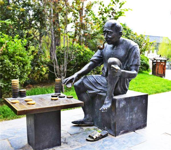 城市景观雕塑与周围环境的统一