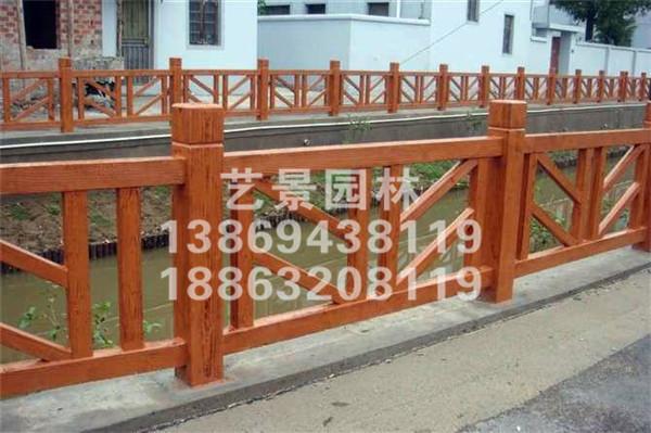 防腐木栏板